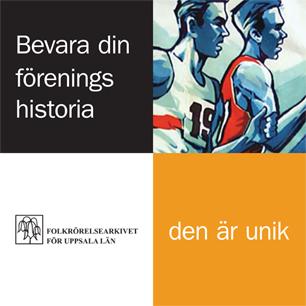 Banner: Bevara din förenings historia - den är unik!