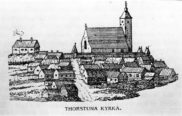 Torstuna kyrka, 1746. Torstuna hembygdsförenings arkiv