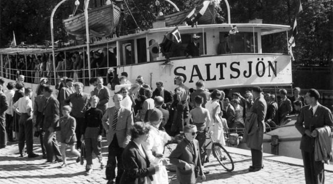 Å vilket hamnliv – utställning på nationaldagen