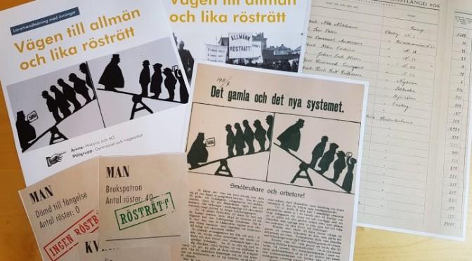 Forskarfredag: Vägen till allmän och lika rösträtt