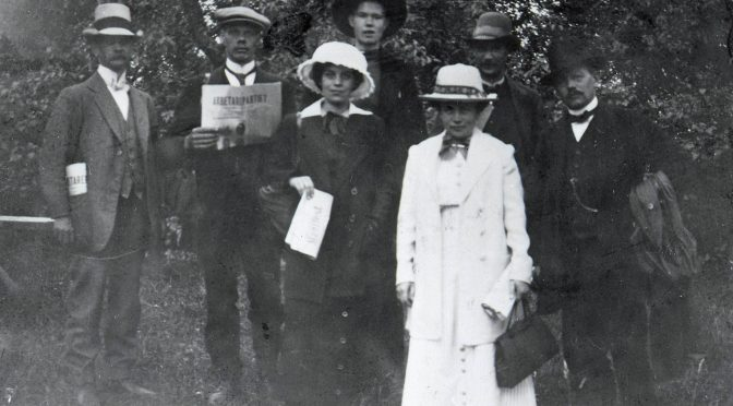 Beslut om kvinnlig rösträtt 100 år